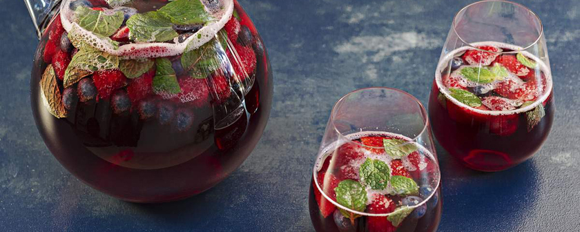 Summer Berry and Ruby Cabernet Punch