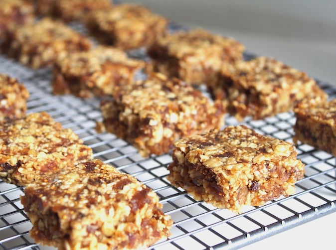 Fig & Oat Bars