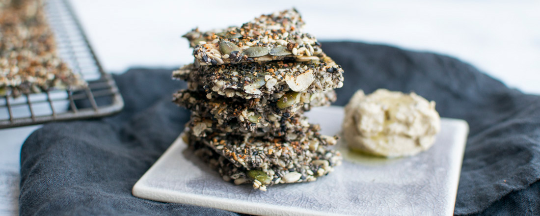 Gluten Free Superfood Crackers